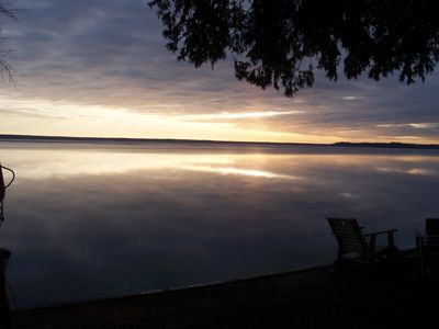Photo for 2 Waterfront Cottages - Hot tub, wi-fi, air conditioning - Tranquility!