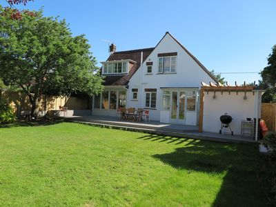 Private garden with generous decking and bbq area (bbq not provided)