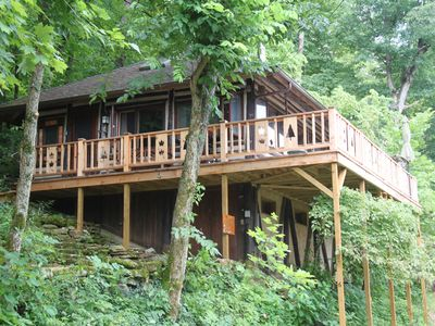 The Perch Cabin #6 Lake Lucerne Lakefront Historic Cabin