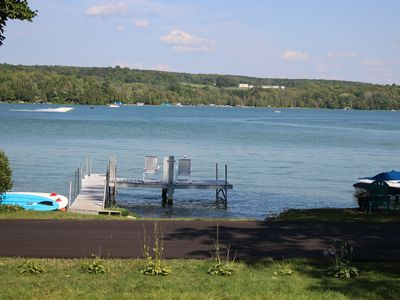 Photo for Amazing Walloon Lake Cottage - Bright, Modern, Sandy Beach & Air Conditioning!