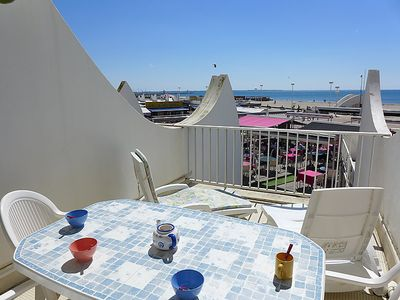 Photo for One bedroom Apartment, sleeps 5 in La Grande-Motte with WiFi
