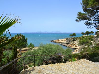 Photo for CALA BLAVA. Access to the beach at only 300 mts.