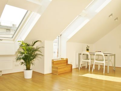 Photo for Sunny City Loft in a central location with terrace