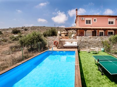 Photo for Villa Elise, Beautiful house, A/C, Private Pool, Table Tennis .