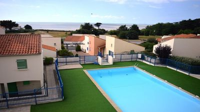 Photo for Apartment sea view and pool in residence