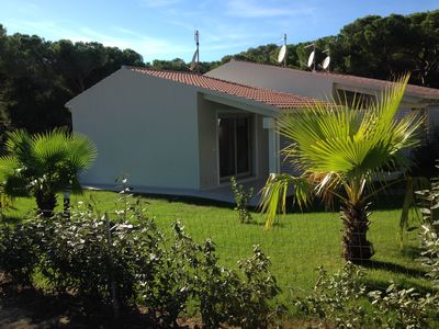 Photo for Villa with garden in pine forest just steps from the sea