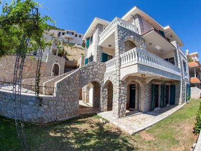 Photo for magnificent luxury villa in in the Bay of Kotor with sauna, tennis court and