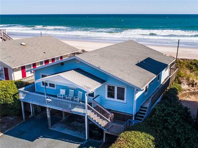 Photo for Bunker Hill: 4 Br / 3 Ba Oceanfront In Topsail Beach, Sleeps 8