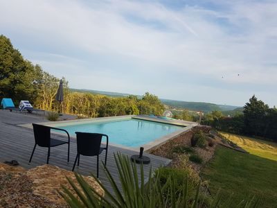Photo for EXCEPTIONAL LOCATION! Near Sarlat, private heated pool