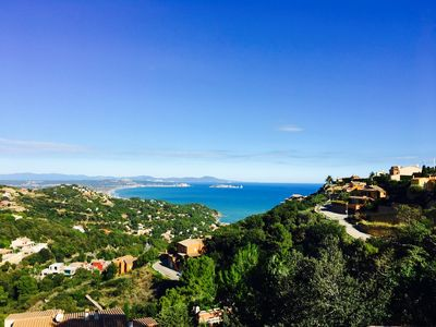 Photo for Breathtaking seaviews in semiattached house in center of Begur- Free Wifi