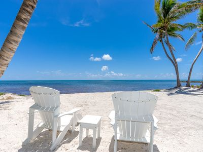 Photo for Ocean Front Estate Walk-in  Sandy Beach, Private Saltwater Pool and Spa