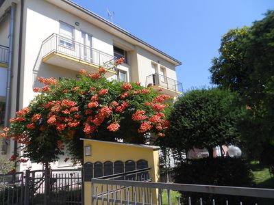 Photo for Rimini only 69 € large appart. 7 minutes to the beach