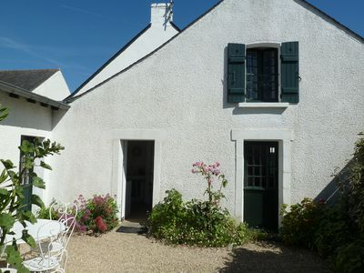 Photo for Small charming house in Mesquer-Quimiac (South Brittany) at 50m from the beach