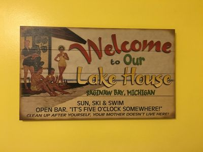 Photo for Lovely Two Bedroom House On Saginaw Bay