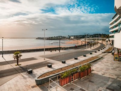 Photo for Sandybanks - Promenade Seaview Apartment (Torquay)
