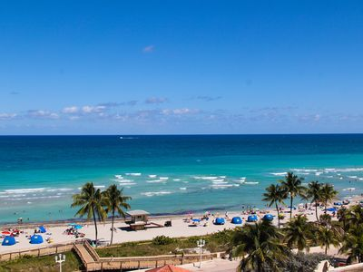 Photo for Hollywood Beach-Perfect  One Bedroom Ocean view and Kitchen