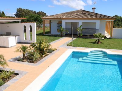 Photo for Country house on a large plot with pool, sauna and nice outdoor area