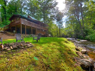 Photo for Cute Cabin On The Creek Near Dillsboro