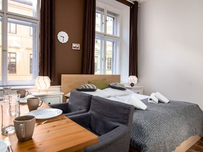 Photo for Soukenicka Apartcomplex Double Orient CZPRSK72 - Apartment for 11 people in Praha