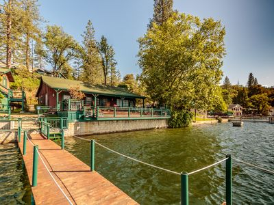 Photo for Fantastic Views From This Lakefront Home With Private Dock