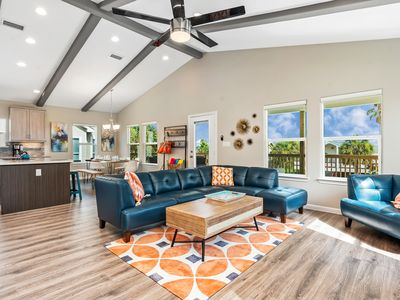 Blue Pearl—Fabulous New Construction in Pirates Beach. Ready for Your Family!