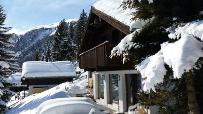 Photo for Premium Chalet a. d.Piste in ski u. Hiking area BELALP with panoramic views