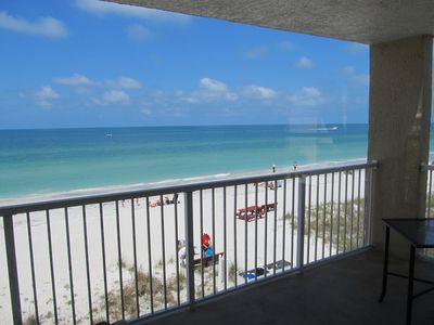 Photo for 2BR/2BA Gulf/Beach Front Condo In Beautiful Indian Shores, Florida!