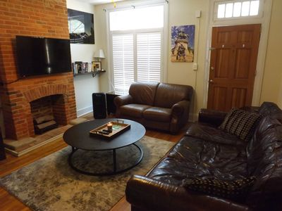 Photo for Spacious 2-BR in the Heart of Fed Hill w/ parking! 4 Flat Screen TV's!
