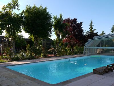 Photo for Cottage with quiet pool