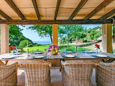 Photo for Finca EcoLuxe Playa Valldemossa ''Sa Cova''- a unique and eco-friendly seafront property to rent for your holidays