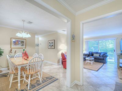 Photo for Conveniently located in the village of St.Simons! Walk to restaurants, shopping, pier, and beach!