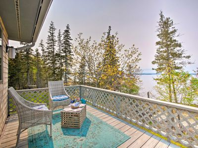 Photo for NEW! Bayfront Designer Home w/ Deck+Private Beach!