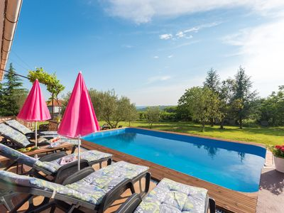 Photo for Romantic Holiday Home with pool and large garden, surrounded by greenery