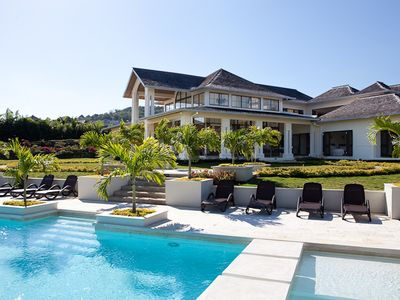 Photo for ULTIMATE LUXURY! MODERN! FULLY STAFF! POOL! TENNIS! GOLF! BEACH-Hanover Grange