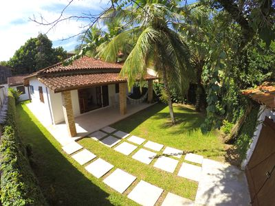 Photo for House in Ilhabela for 8 people with barbecue at 50m from the beach