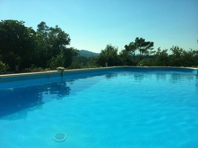 Photo for Villa stroke quiet pool in Vidauban, 25km St Raphael, RIVIERA