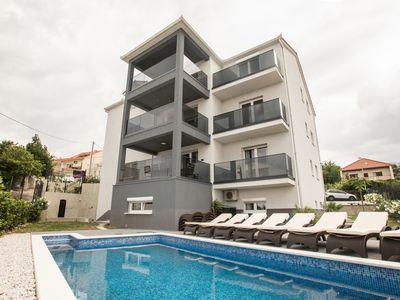 Photo for Luxury apartments Paradise with swimming pool