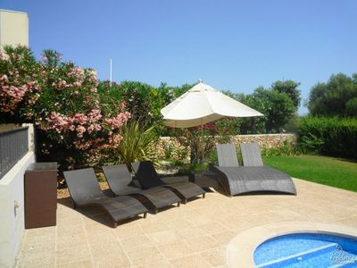 Photo for 3 bedroom Villa, sleeps 6 in Sant Climent with Pool, Air Con and WiFi