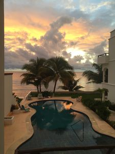sunrise from your balcony