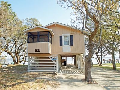 Photo for SOUNDFRONT- 3 BRs, Boat Dock, Screened-in Porch, Com Pool, Marina and Tennis