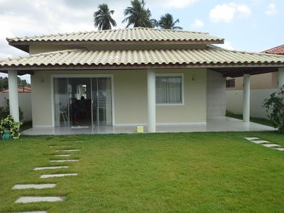 Photo for House for rent in condominium with 3 bedrooms and kiosk with barbecue