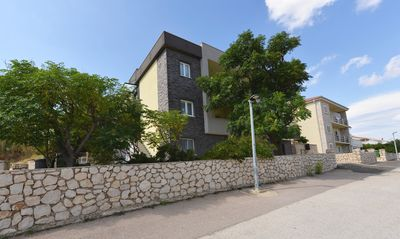 Photo for Apartments LILI for up to 25 people near the sea in Pag