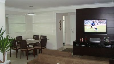 Photo for Pitangueiras Guaruja - Leisure complete - Comfort and Safety