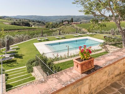 Photo for Casa degli Archi is a luxury property in Chianti, with disable access, 1 bedrooms 2 bathrooms sleeps