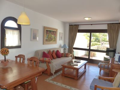 Bright open-plan Sitting Room of Units 1 2 and 3