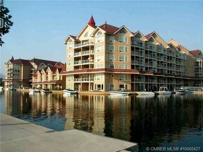 Photo for Beachfront 3 bedroom condo In The Heart Of Downtown Kelowna