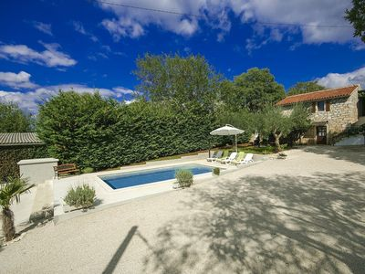 Photo for Characteristic and well maintained villa with private pool near Višnjan and Porec