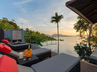 Photo for House Kalim 6 · Grand Boutique Villa in Patong, full seaview, 6BRs