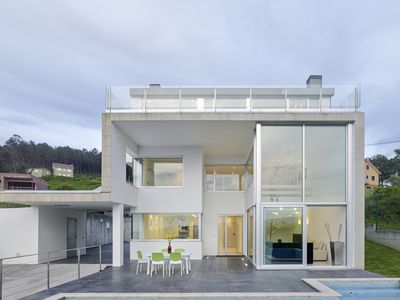 Photo for Villa with stunning sea views and private pool in Galicia