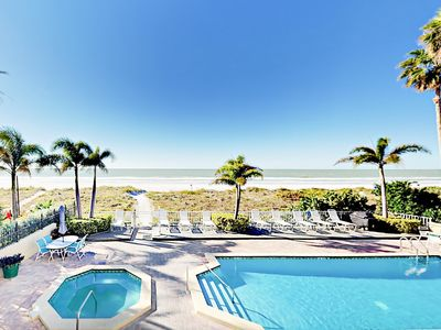 Photo for Oceanfront Gem - 3BR Condo w/ Pool, Hot Tub & Stunning Views
